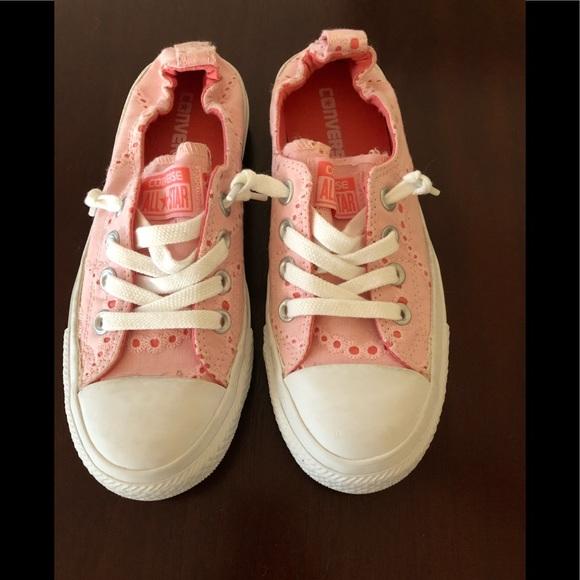 139ef22693e8 Converse Shoes - Converse Pink Eyelet (US Ladies size 6